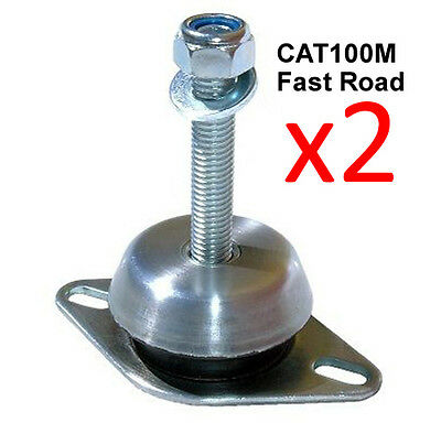 2 x Caterham 7 All 4 cyl 73 07 Vibra Technics Engine Mount Road  Race CAT100M