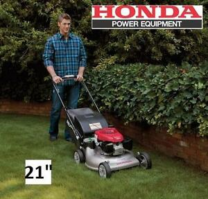 "NEW HONDA 3-IN-1 GAS LAWN MOWER 21"" - 118869590 - Self-Propelled Gas LAWN Mower with Auto Choke - SEE COMMENTS - VARI..."