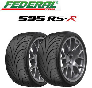 2x federal 595 rs r tyres track day race road 225 45 zr17 94w xl all sizes ebay. Black Bedroom Furniture Sets. Home Design Ideas