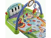 Fisher Price gym and coupe walker