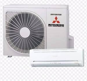 Mitsubishi Split system Air Conditioner Richmond Yarra Area Preview