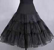 Petticoat Unterrock Schwarz