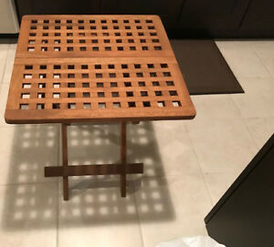 Folding Table New ( solid wood )