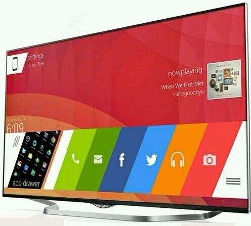 "55"" LG LED SMART 3D TV LESS THAN 2 YEAR OLD"