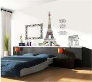 Paris Wall Art Stickers