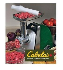 NEW CABELAS ELECTRIC MEAT GRINDER - 116267886 - Cabela's #5 Meat Grinder   Food Preparation     Slicers Grinders     ...