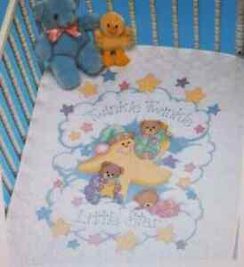 Twinkle Twinkle Stamped Cross Stitch Kit