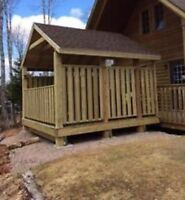 Decks Fences stairs and more