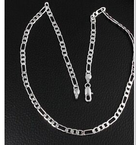 Mens silver plated chain