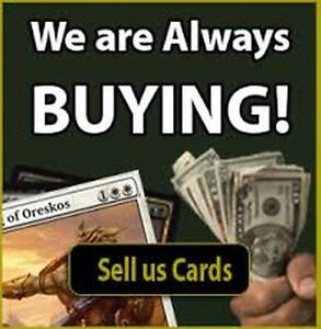 ---------------Buying magic the gathering cards--------