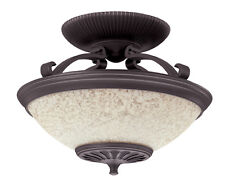 Hunter Ceiling Mounted Bathroom 700 W Space Heater With Light & Remote Control