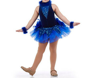 ustle Ballet Dance Costume Girls CXS,CS,6X7,AS,AM,AL (Bird Girl Kostüme)