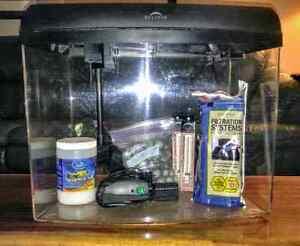 12 gallon seamless acrylic aquarium fish tank