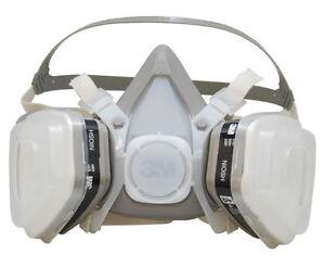3m 7193 dual cartridge respirator face mask auto paint ebay