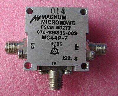Microwave Rf Mixer Mc44p-7 Fscm 59277 Mms