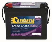Brand New Century Deep Cycle AGM battery C12-75DA Coopers Plains Brisbane South West Preview