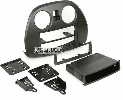 - Metra 99-7010 Single/Double DIN Dash Install Kit for 2006-07 Mitsubishi Eclipse