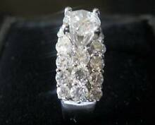 Stunning 2.75ct Diamond Ring - 18ct White Gold Hornsby Hornsby Area Preview