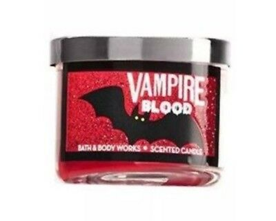 Bath & Body Works Mini Candle Halloween Vampire Blood - Halloween Candles Bath And Body Works