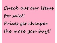 Furniture, vintage, retro, wardrobes, Ikea, drawers, chairs, tables, homeware, household goods MORE
