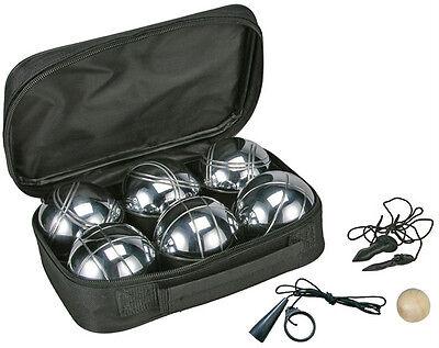 Boule Set 6 Metallkugeln a 720g (off.Turniergewicht) Boulekugeln Petanque Boccia