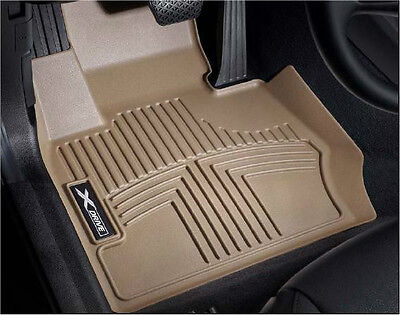 BMW Beige All Weather Floor Liners 2013 2015 E84 X1 28i SDRIVE SET 82112286151