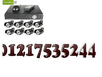 cctv camera day night system with fitting