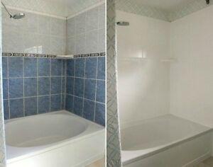 rajeunissement salle de bain - réémaillage bain lavabo céramique