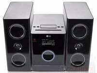 BOXED Perfect working order Eclipse LG sound system/speakers/remote / Aux / CD / compatible Airport