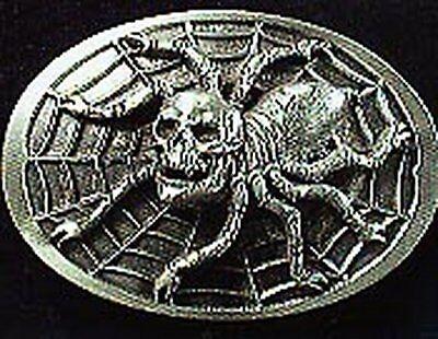 SPIDER WEB BELT BUCKLE CHARLOTTES BUCKLES TARANTULA ()