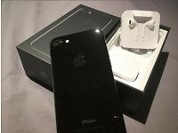 iPhone 7 /Jet Black /128GB /unlocked ( open to any network)