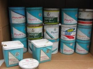 Tobacco tins for sale
