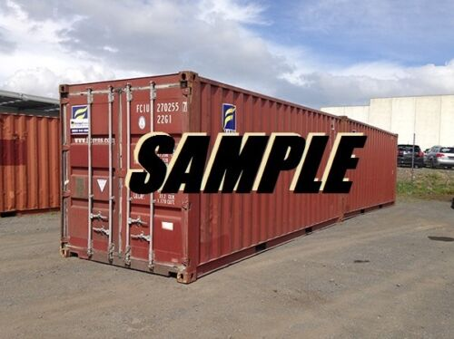 40ft Shipping Container Storage Container In Nashville, Tn