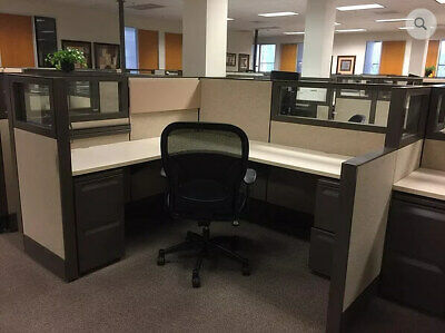 Used Office Cubicles Herman Miller Q 6x7 Cubicles