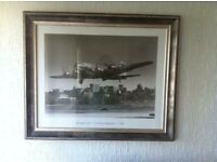 Framed Print - Boeing 307 On Final Approach 1940