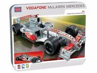 3 Piece BUNDLE Mega Blocks Vodafone McLaren Mercedes MP4-22, Pitstop 3243, Rig 3244 BRAND NEW SEALED