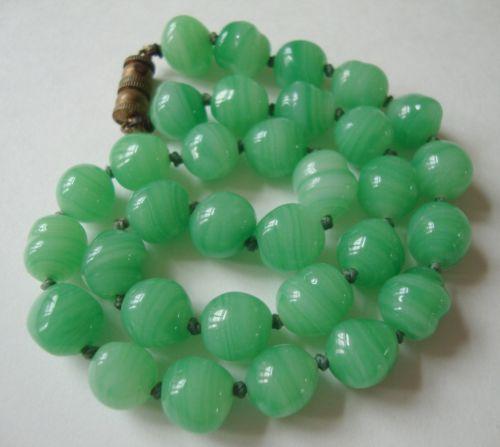 Peking Glass Necklace eBay