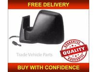 FIAT SCUDO 1995-2007 DOOR WING MIRROR MANUAL BLACK PASSENGER SIDE NEW HIGH QUALITY FREE DELIVERY