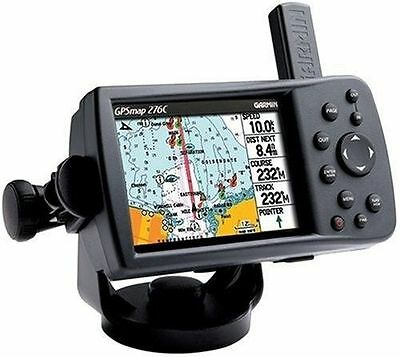 GARMIN GPS CHARTPLOTTER MARINE 276C GPSMAP HEAD UNIT ONLY BOAT 376C 478](garmin gps head unit)