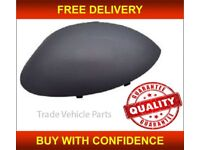PEUGEOT 206 1998-2007 DOOR WING MIRROR COVER PRIMED PASSENGER SIDE NEW HIGH QUALITY FREE DELIVERY