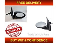 OS Driver Side Right Door Wing Mirror Cover Primed Berlingo