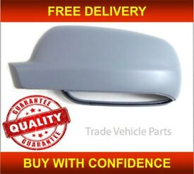 VW BORA 1999-2006 DOOR WING MIRROR COVER PRIMED PASSENGER SIDE NEW HIGH QUALITY NEW FREE DELIVERY