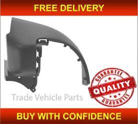 CITROEN BERLINGO 2008-2016 REAR BUMPER CORNER DRIVER SIDE BLACK TWIN DOOR NEW FREE DELIVERY