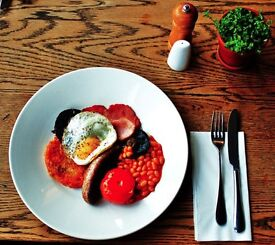 Breakfast Chef at The Hare & Hounds, Bath. 4 days a week, 22 hours.