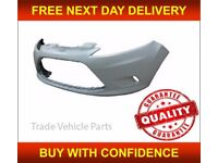 FORD FIESTA 2008-2012 FRONT BUMPER WITH FOG HOLES NEW INSURANCE APPROVED FREE DELIVERY