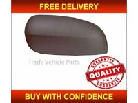 VAUXHALL CORSA C 2000-2006 DOOR WING MIRROR COVER BLACK PASSENGER SIDE NEW FREE DELIVERY