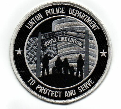 INDIANA IN LINTON POLICE SUBDUED NEW PATCH