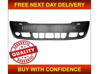 AUDI A6 2002-2005 FRONT BUMPER PRIMED NO PDC WITH WASHER HOLES HIGH QUALITY NEW FREE DELIVERY