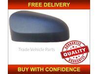 TOYOTA AYGO 2014- ON DOOR WING MIRROR COVER PRIMED PASSENGER SIDE NEW HIGH QUALITY NEW FREE DELIVERY
