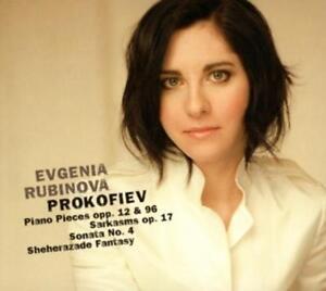 Rubinova Evgenia - Prokofiev: Piano Pieces, Opp. 12 & 96, CD, NEU
